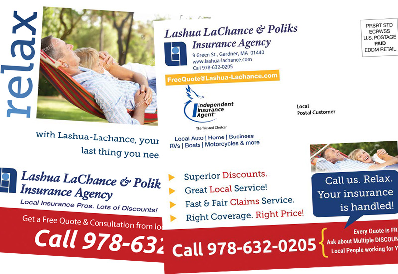 Insurance Agency EDDM Direct Mail Project